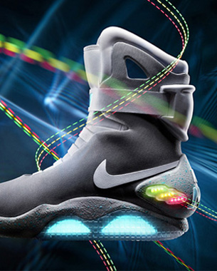 Back to the future with Nike Air Mag
