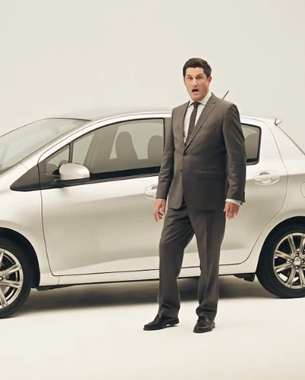Michael Showalter featured in new Toyota Yaris spot