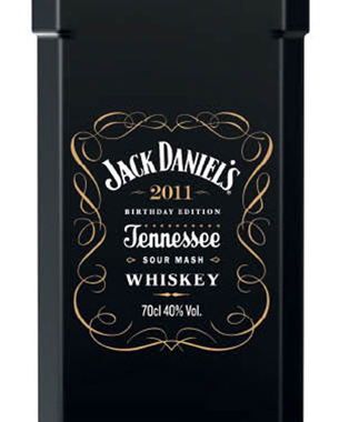 Jack Daniel's 161th Birthday Black Edition Bottle