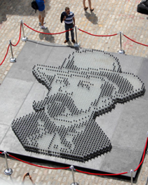 Jack Daniel's Celebrates 161st Birthday With World Record Mosaic