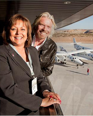 Virgin Launches People To Space