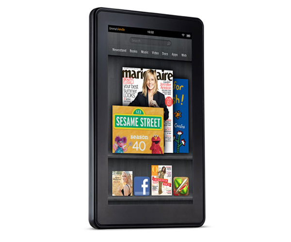 Amazon Kindle Fire Newsstand