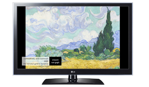 LG And Purescreens Introduce Museum App For Smart TV