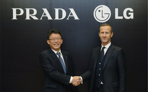 Prada and Lg partnership (Branding Magazine)