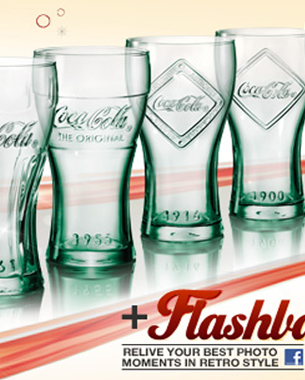 McDonald's and Coca-Cola Retro Promotional Glasses