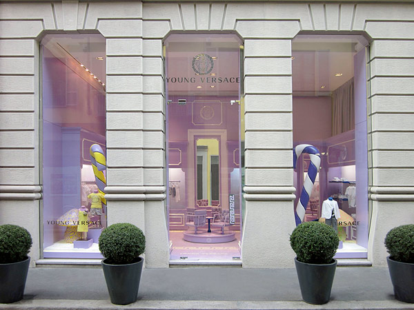 The First Versace Kid's Boutique