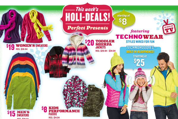 Old Navy's Techno World collection - Branding Magazine