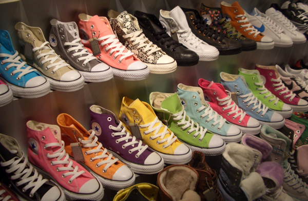 Make Your Own Converse Sneakers