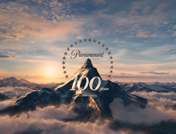 The newly redesigned Paramount Pictures logo