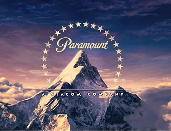 The old Paramount Pictures logo as featured in many movies