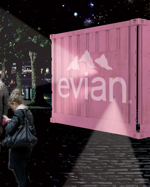 Wanna Go To the Alps With Evian? Be A Londoner
