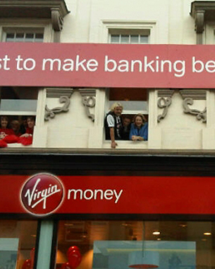 Virgin Money Debuts, Ad Shows Brand's Rich History