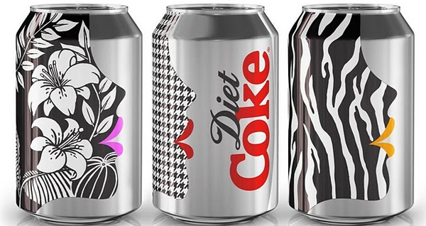 Get Glam With Diet Coke And New Love It Light Puppet Campaign