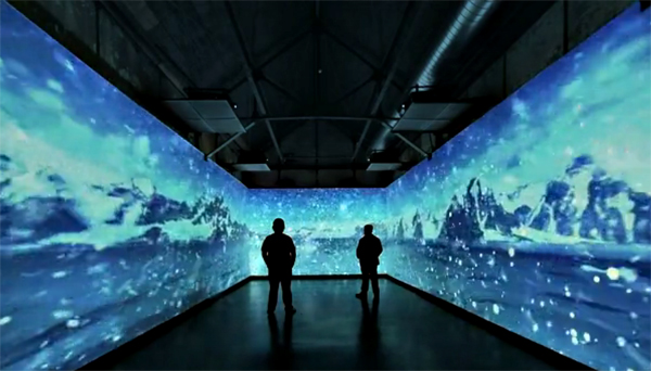 Coca Cola's 3D Trippy Installation In Istanbul