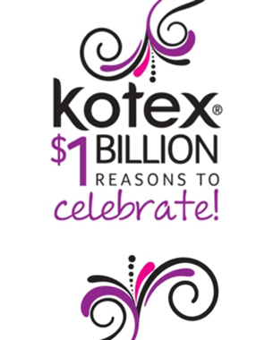 Kotex Brand Enters Billion-Dollar Category