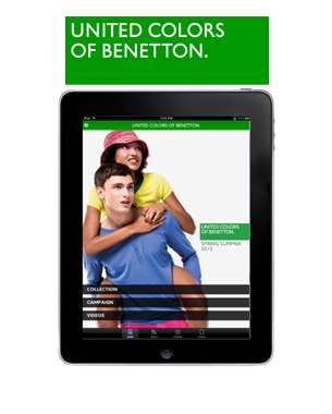 Benetton's Digital Interaction With New Apps