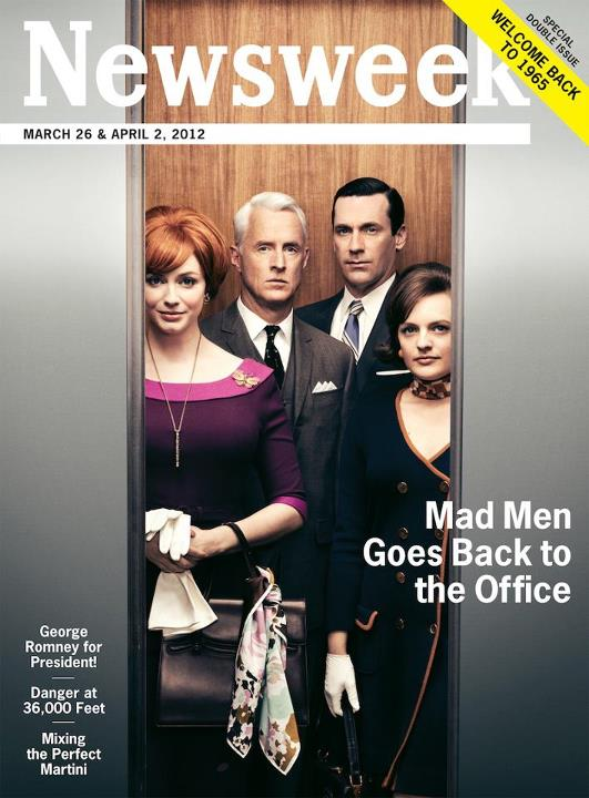 Newsweek Goes Completely Retro In Order To Celebrate Mad Men S05