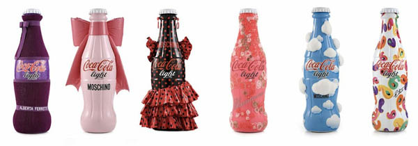 Coca-Cola Bottles Dressed Up By Italian Designers