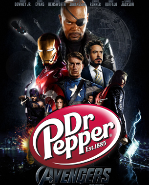 Dr Pepper Goes Superhero