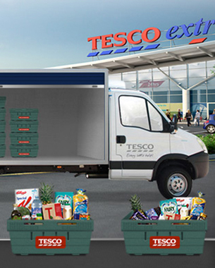 "Tesco Launches ""Delivery Dash"" Facebook Game"