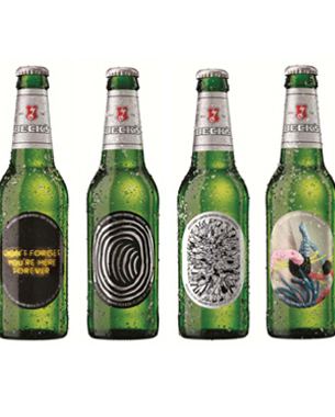Beck's Limited Edition Art Bottles