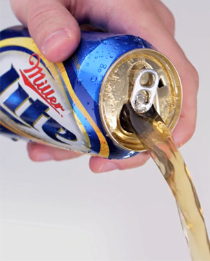 Punch Top Can – Miller Lite's Newest Gimmick