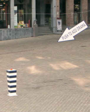Surprise Flash Mob Strikes Again: Launch of TNT in Belgium
