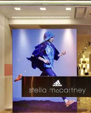 The First Adidas By Stella McCartney Store