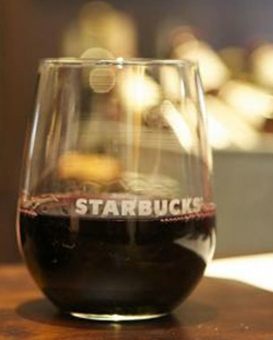 Are You Ready For Some Wine Sippin' In Starbucks