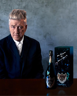 Limited Edition Dom Perignon Bottle By David Lynch