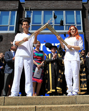 Day 67 - Olympic Torch Relay