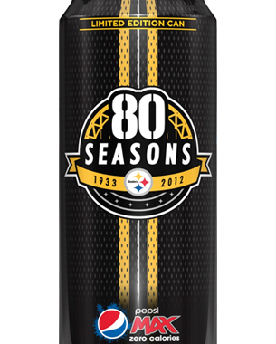 PepsiCo Signs Exclusive Sponsorship Contract With Pittsburgh Steelers, Unveils Limited Edition Pepsi MAX Can