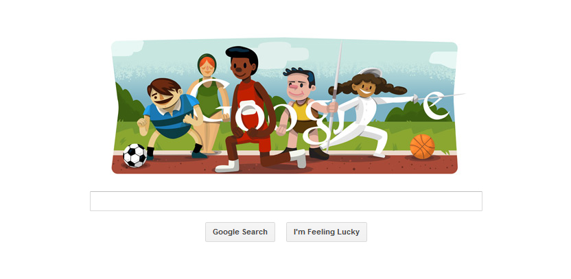 Google Doodle Celebrates 2012 Olympic Games | Brandingmag