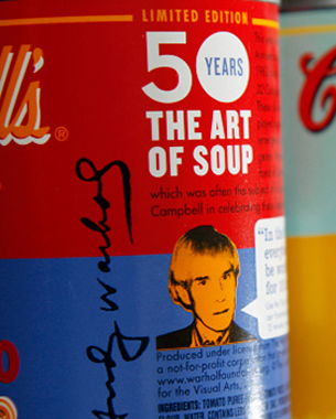 Campbell's Soup - Pop Art Icon Refreshed