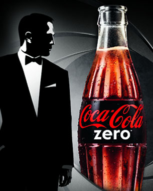 Coca-Cola Zero Supporting New James Bond Movie - Limited Edition Packaging Revealed