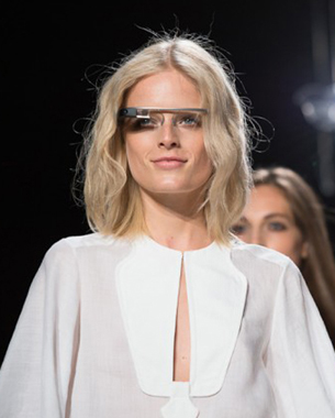 Google Project Glass Debuts at NY Fashion Week