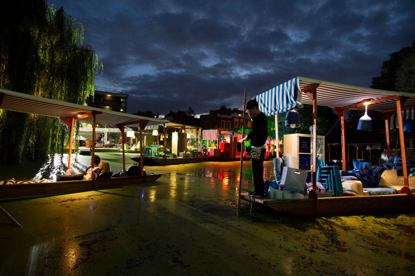 ikea turns london s regent s canal into a floating market