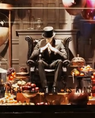Johnnie Walker Where Flavor Is King Ads Come to Life at Selfridges