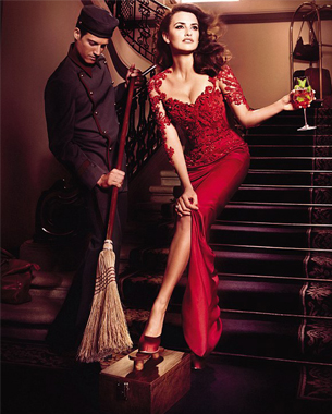 Penelope Cruz Helps Campari Break Superstitions in New Calendar