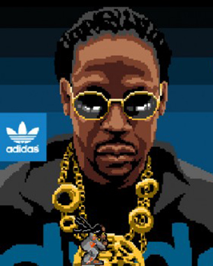 Adidas Promotes Adicolor Brand with an Interactive Game Featuring Rapper 2 Chainz
