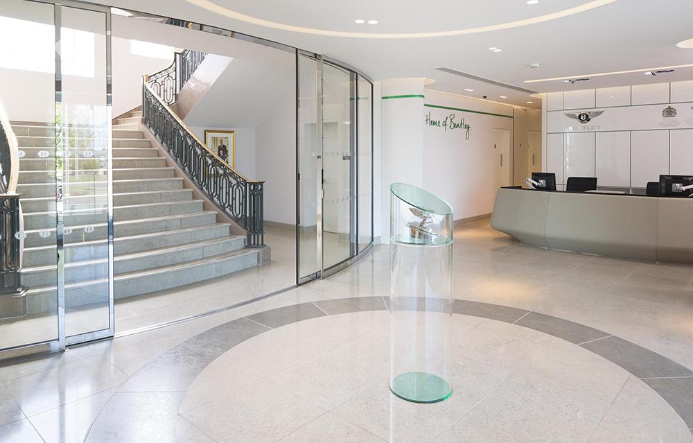 An award winning identity for bentley brandingmag for Interior design awards uk