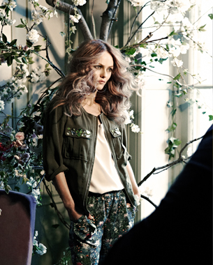 Venessa Paradis for H&M Conscious Collection