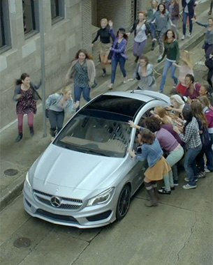 The Devil, Kate Upton and Usher Star in Mercedes' New Super Bowl Ad