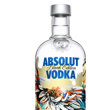 ABSOLUT Continues BLANK Movement in 2013 With New Limited Edition Bottle