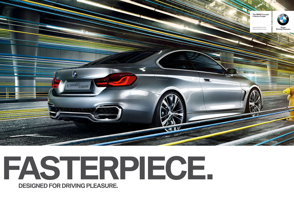 """BMW Makes it Clear: It is """"Designed for Driving Pleasure"""