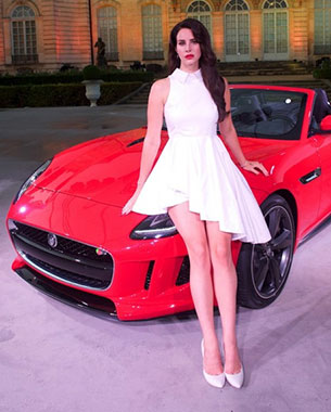 "Lana Del Rey's ""Burning Desire"" Features the Fearless 2013 Jaguar F-TYPE"