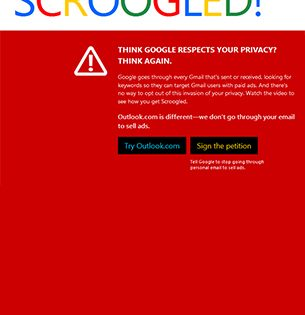 Microsoft Bashes Google in Its New Anti-Gmail Campaign ...