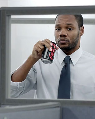 Coke Zero Targets Men During March Madness