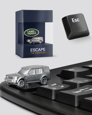 Land Rover Replaces ESC with LR4 Key