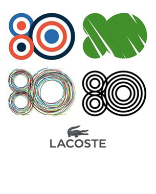 Past & Present Unite as Lacoste Celebrates 80th Anniversary